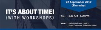 It's About Time! (with Workshops)