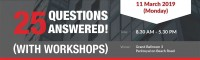 25 Questions Answered! (with Workshops)